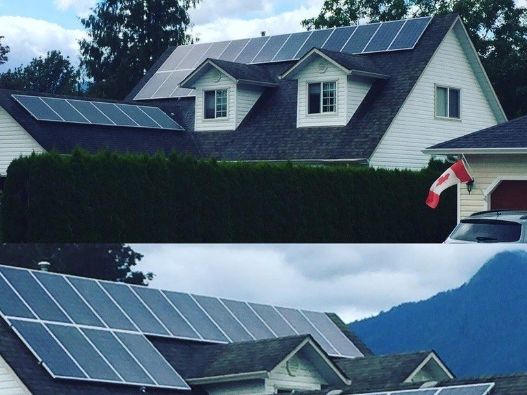 7.9kW-System-output-in-Agassiz-BC solar panel installation