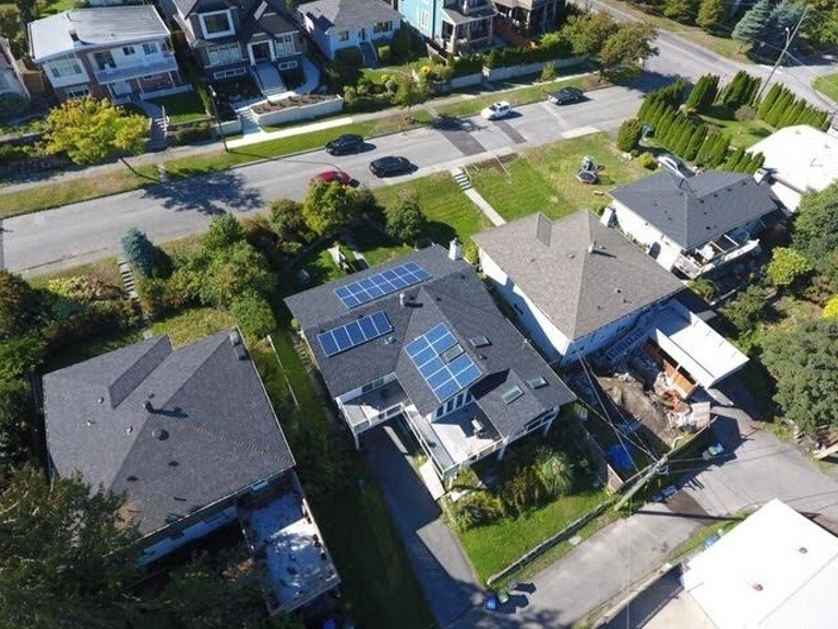 8.5kW-Home-Install-in-New-West-BC solar panel installation
