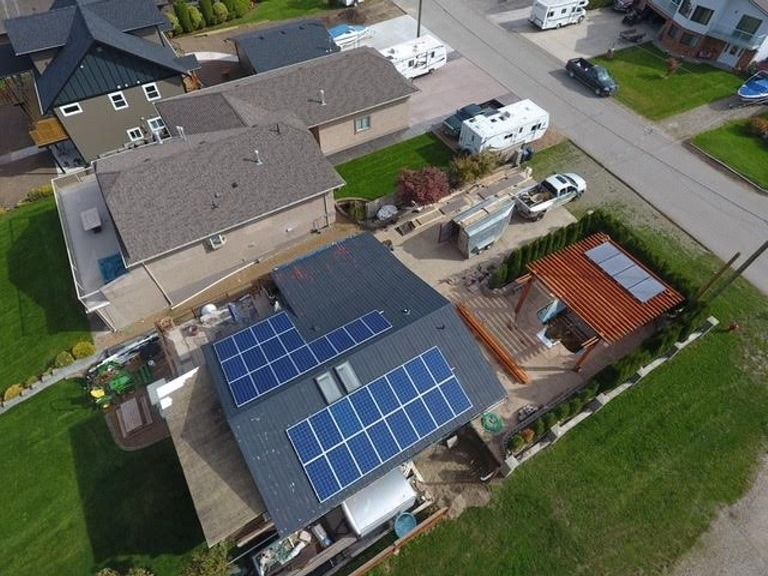 solar panel installation Chase BC