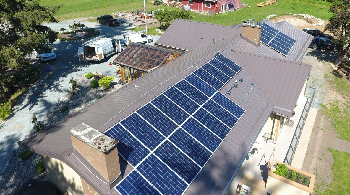 rikur energy solar panel project
