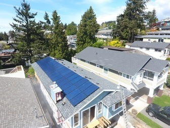 solar power system in white rock