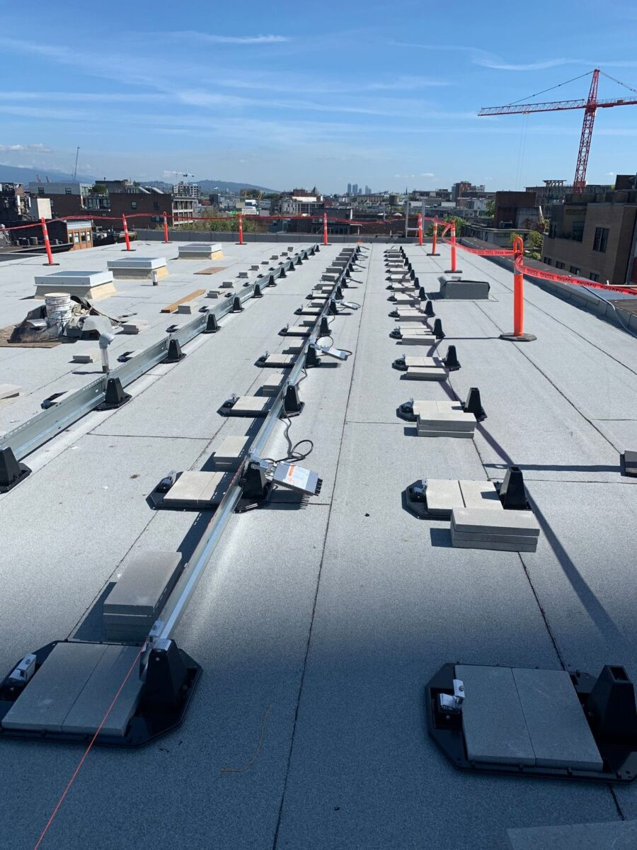parkade rooftop solar in Vancouver