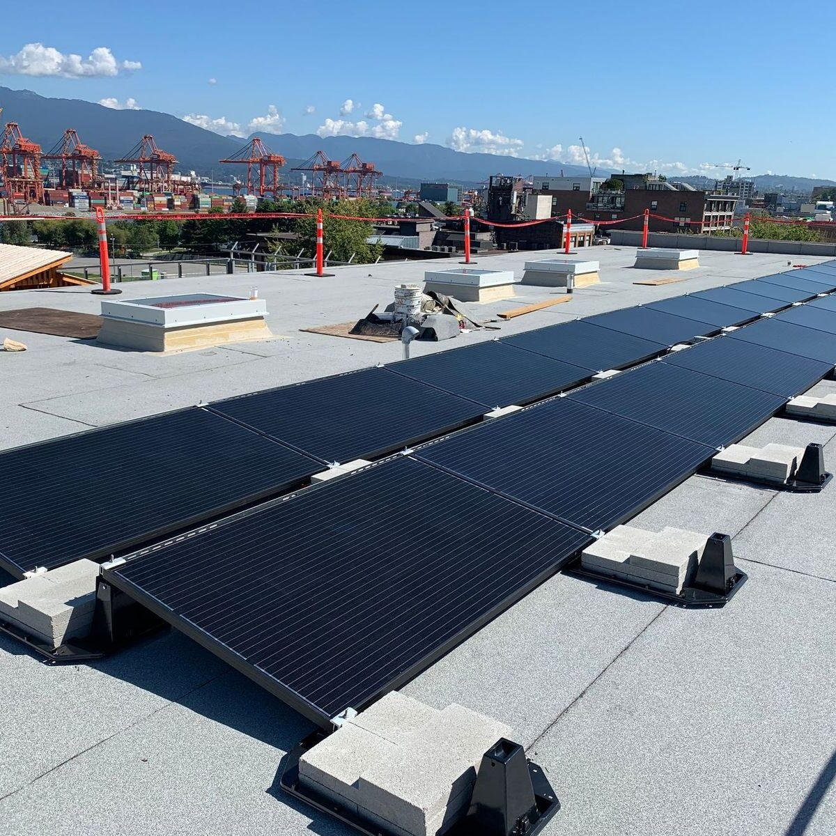 daycare rooftop solar