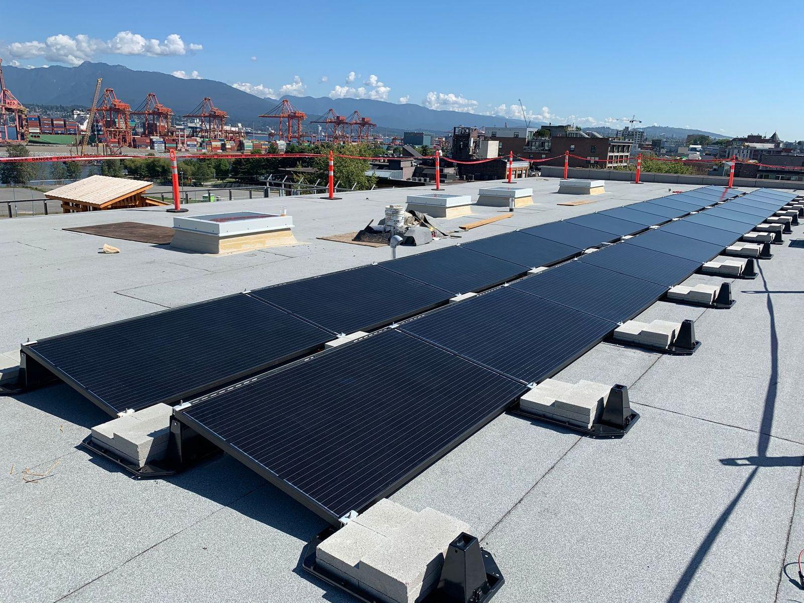 solar power installation ladner