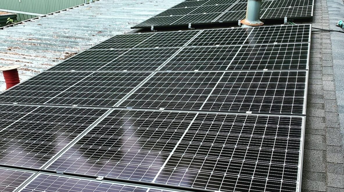 Our solar panel specialist installed solar energy system in Surrey