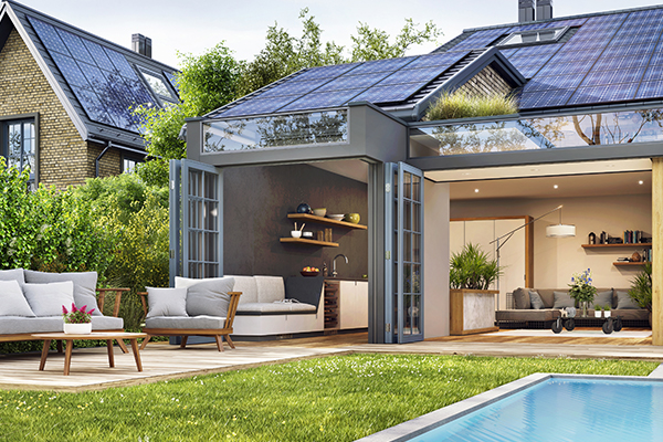 Install the solar panels for your home and apply for the greener home grant program